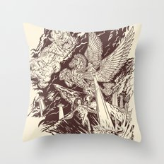 A Geek Legend Throw Pillow