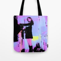 baking Tote Bags featuring Pop Art Baking Mod by Penny Giforos