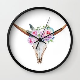 Animal Skull 07 Wall Clock