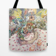 Playing Alone Tote Bag