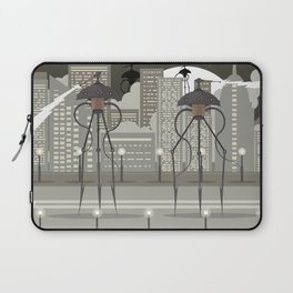 science fiction alien giant tripod Laptop Sleeve
