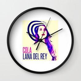 lana album del rey 2021 katrin2 Wall Clock