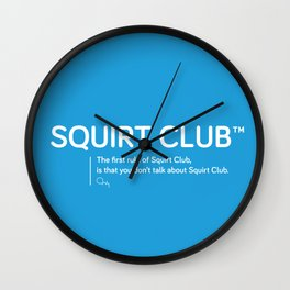 Squirt Club™ Wall Clock
