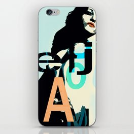 Pop Art Akt iPhone Skin