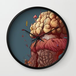 Agaricus Wall Clock
