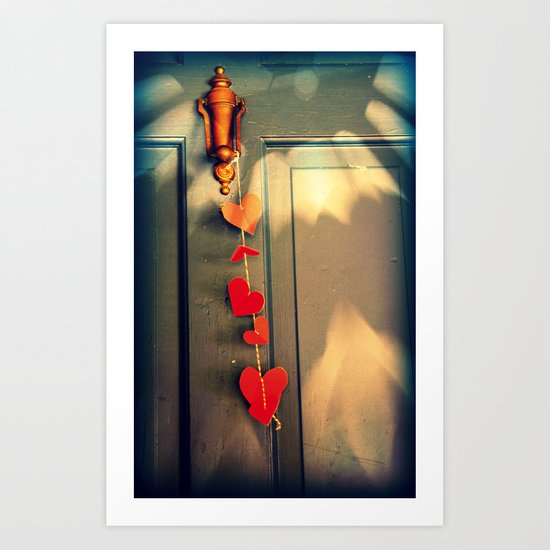 If you knock_you will find loving Arms Art Print