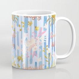 Cute Feminist Killjoy Pattern Coffee Mug