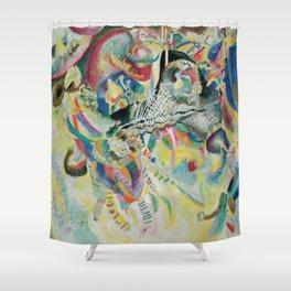 Wassily Kandinsky - Fugue Shower Curtain