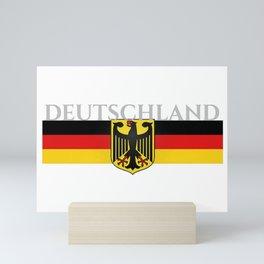 Deutschland ...German Flag and Eagle Mini Art Print