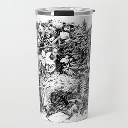 Inky Undergrowth Travel Mug
