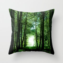 I found my way Throw Pillow