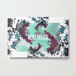 Acid House I Metal Print