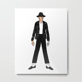 Beat IT MJ 14 Metal Print