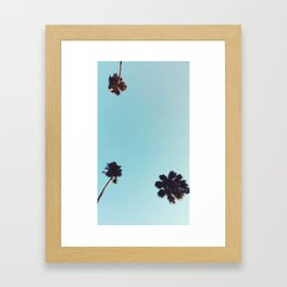 Angeleno Palms Framed Art Print