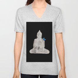 Bouddha's Soul Unisex V-Neck