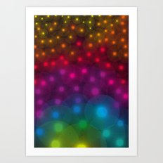 SF Dandelion Rainbow Art Print