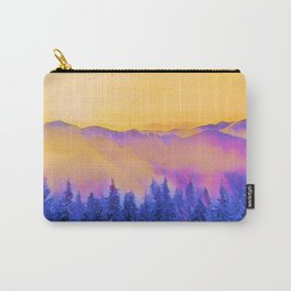soft morning in the forest Carry-All Pouch