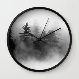 shrouded Wall Clock