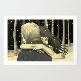Let the Right One In by Jorge Mascarenhas Art Print