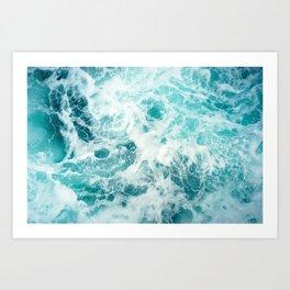 Ocean Sea Waves Kunstdrucke