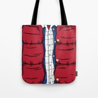 mcfly Tote Bags featuring The McFly by antastic