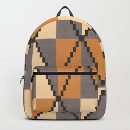 Cane in Yellow Backpack