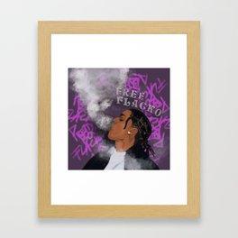 Free Flacko Framed Art Print