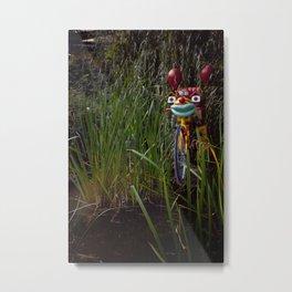 A Zoo Alien Metal Print