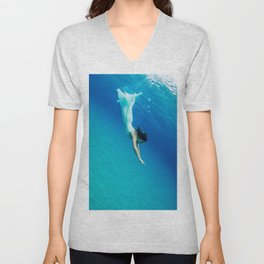 Dive in Unisex V-Neck