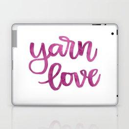 Yarn Love - Fuchsia Laptop & iPad Skin