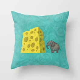 Big Cheese Throw Pillow