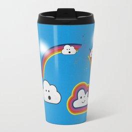 The Great Rainbow Cloud Robbery Travel Mug