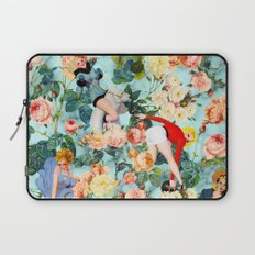 Floral and Pin Up Girls II Pattern Laptop Sleeve