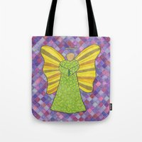 military Tote Bags featuring Military Angel by GT6673