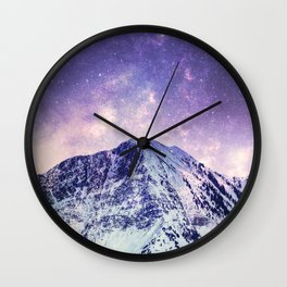 Space Torn Wall Clock