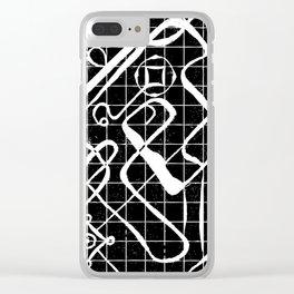 nephilim Clear iPhone Case