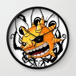 Laughing Sun Wall Clock