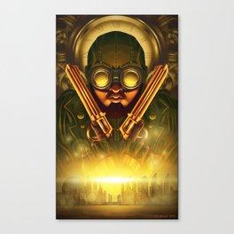 Steampunk Seth: Bounty Hunter Canvas Print