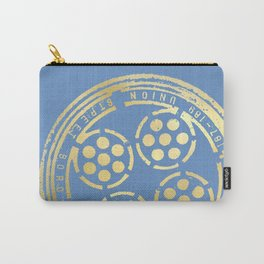 union street: true blue Carry-All Pouch