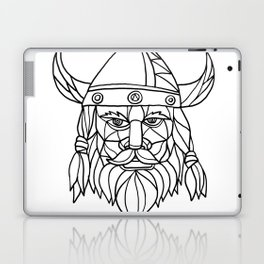 Norseman Black and White Mosaic Laptop & iPad Skin