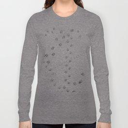 Animal Tracks of North America Long Sleeve T-shirt