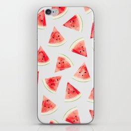 Watercolor Watermelon Pattern #society6 #buyart #decor iPhone Skin