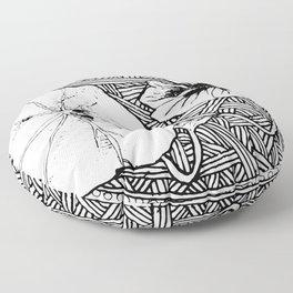 Nasturtium Floor Pillow