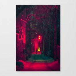 MTL Alleyway Canvas Print