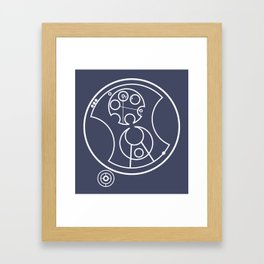 Oh, Brilliant! Framed Art Print