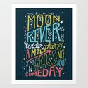 MOON RIVER by thewellkeptthing