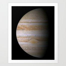 The Greatest Jupiter Portrait Art Print