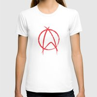 anarchy T-shirts featuring Federation Anarchy by The Cracked Dispensary
