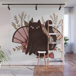 Japanese Kitty Wall Mural