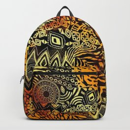 Africa style pattern Backpack
